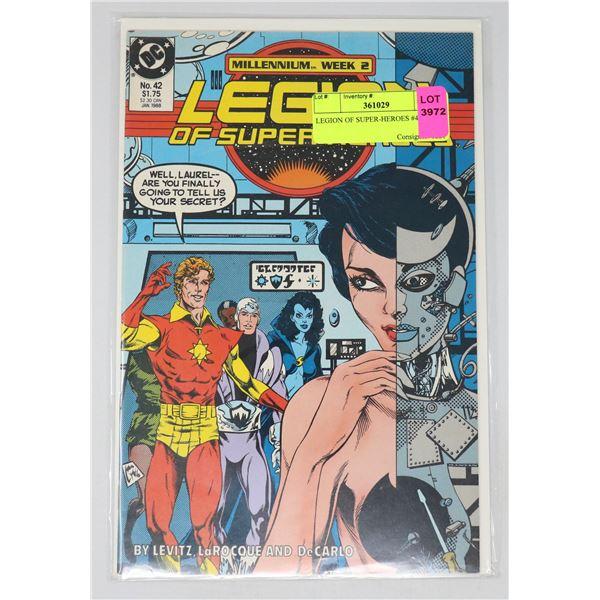 LEGION OF SUPER-HEROES #42