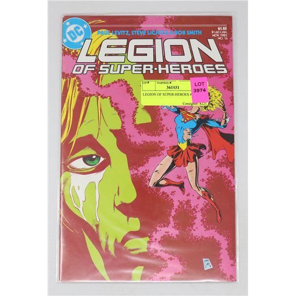 LEGION OF SUPER-HEROES #16