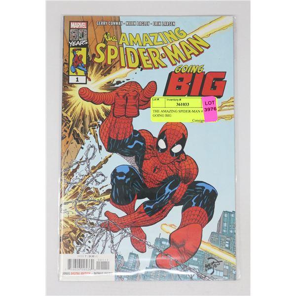 THE AMAZING SPIDER-MAN #1 GOING BIG
