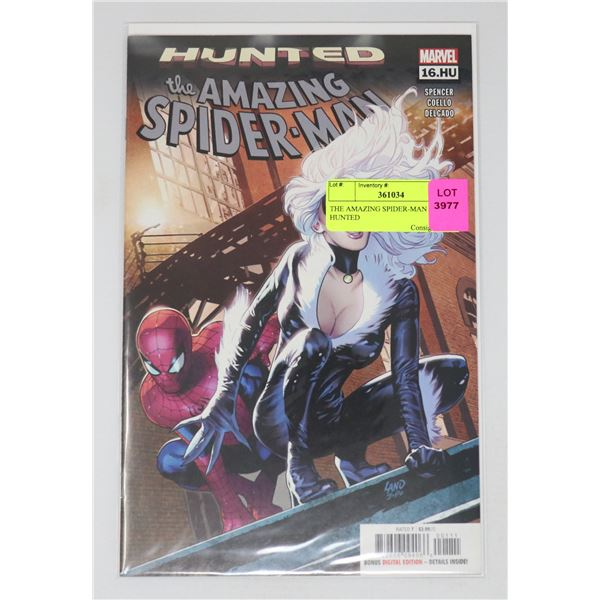 THE AMAZING SPIDER-MAN #16 HUNTED