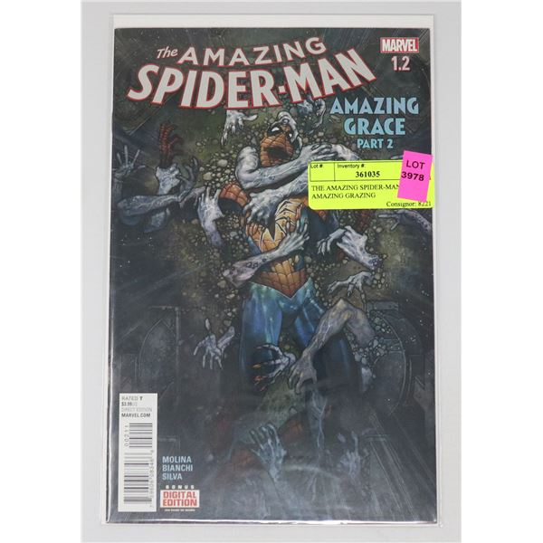 THE AMAZING SPIDER-MAN #1.2 AMAZING GRAZING