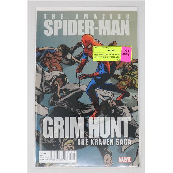 THE AMAZING SPIDER-MAN GRIM HUNT THE KRAVEN SAGA