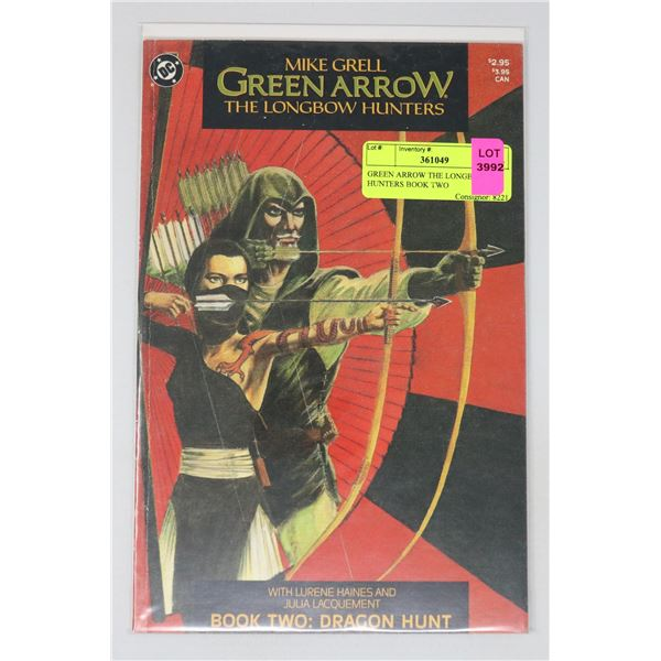 GREEN ARROW THE LONGBOW HUNTERS BOOK TWO