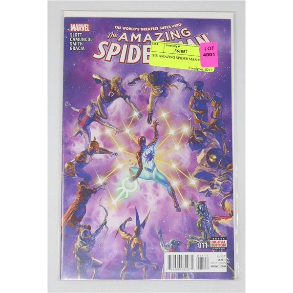 THE AMAZING SPIDER MAN #11