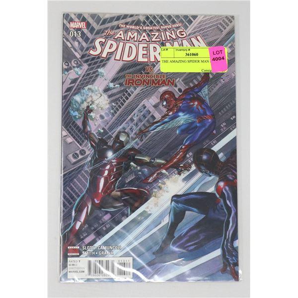 THE AMAZING SPIDER MAN #13