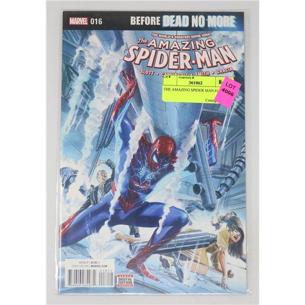 THE AMAZING SPIDER MAN #16