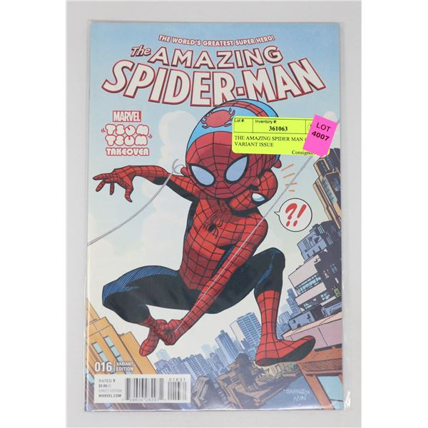 THE AMAZING SPIDER MAN #16 VARIANT ISSUE