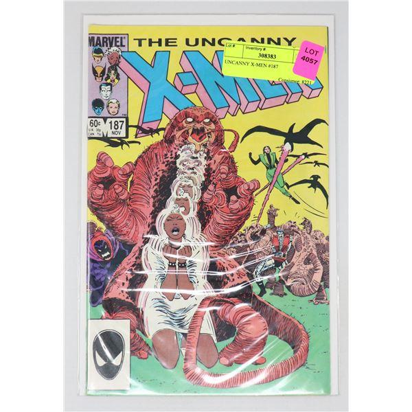 UNCANNY X-MEN #187