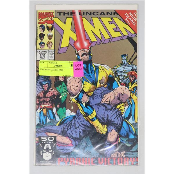UNCANNY X-MEN #280