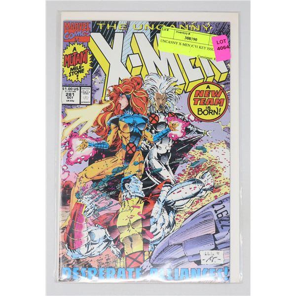 UNCANNY X-MEN #281 KEY ISSUE