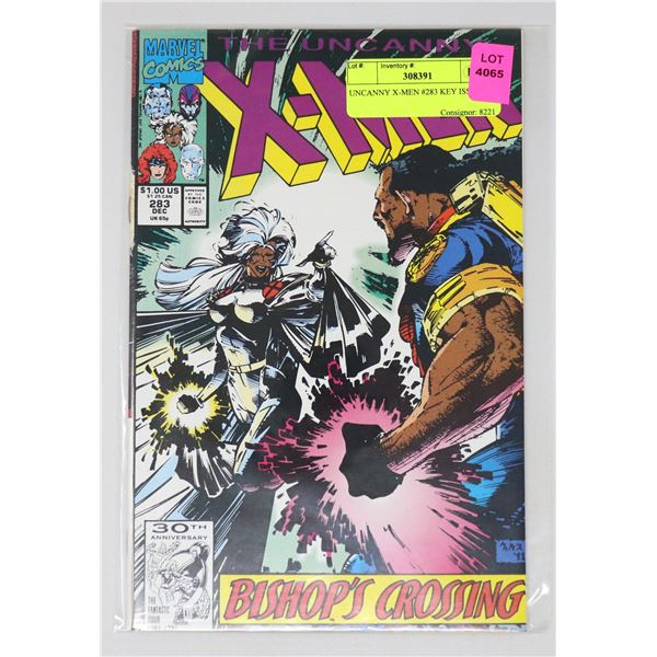 UNCANNY X-MEN #283 KEY ISSUE