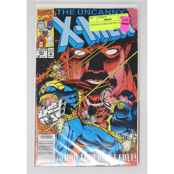 UNCANNY X-MEN #287 KEY ISSUE