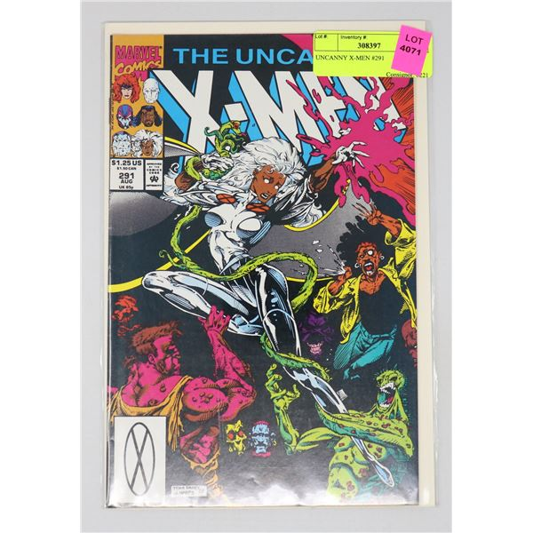 UNCANNY X-MEN #291