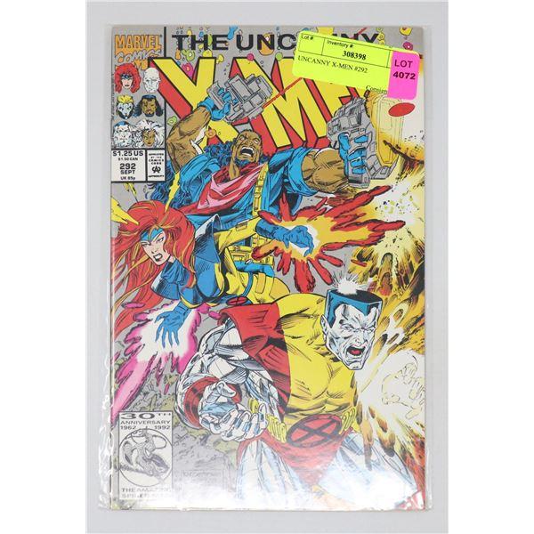 UNCANNY X-MEN #292