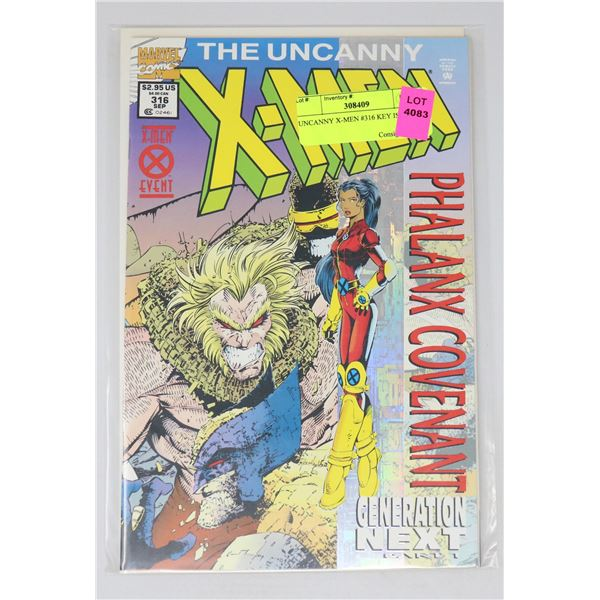 UNCANNY X-MEN #316 KEY ISSUE
