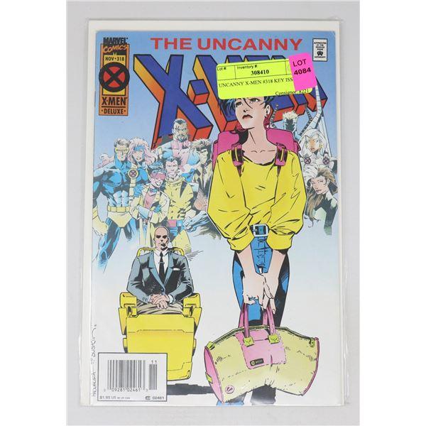 UNCANNY X-MEN #318 KEY ISSUE