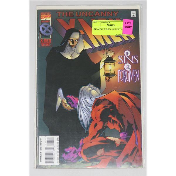 UNCANNY X-MEN #327 KEY ISSUE