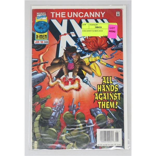 UNCANNY X-MEN #333