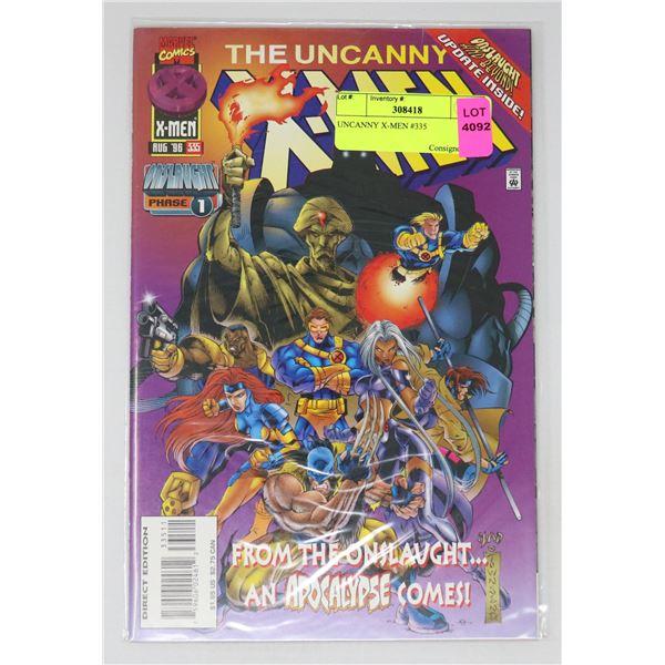 UNCANNY X-MEN #335