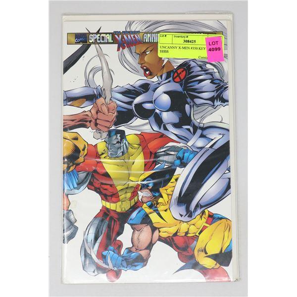 UNCANNY X-MEN #350 KEY ISSUE $$$$$