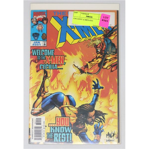 UNCANNY X-MEN #351