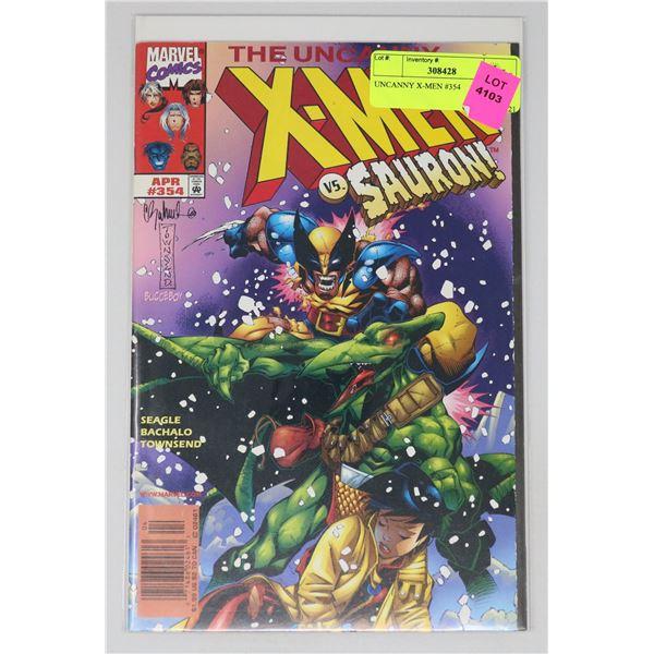 UNCANNY X-MEN #354