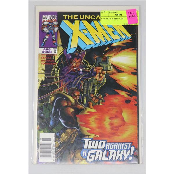UNCANNY X-MEN #358