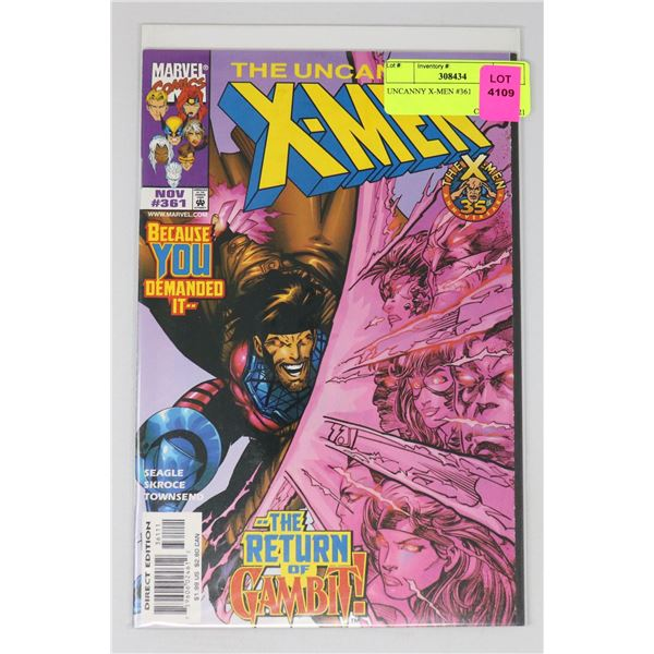 UNCANNY X-MEN #361