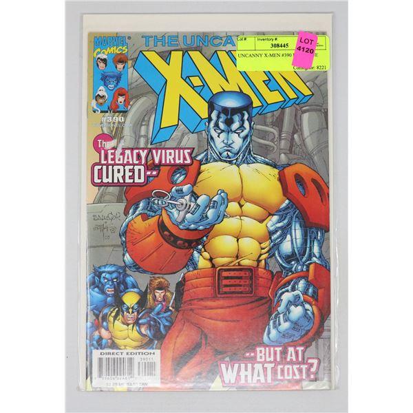 UNCANNY X-MEN #390 KEY ISSUE