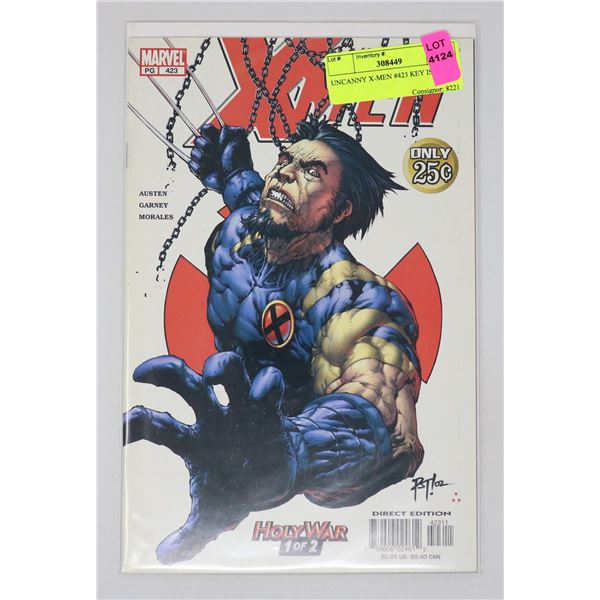 UNCANNY X-MEN #423 KEY ISSUE