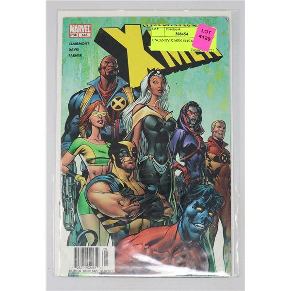 UNCANNY X-MEN #445 KEY ISSUE