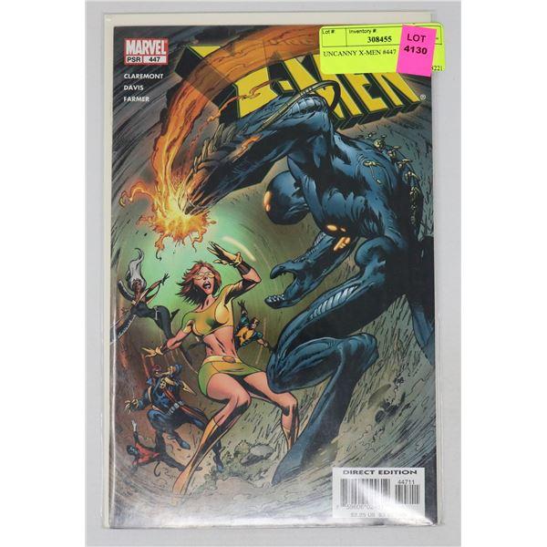 UNCANNY X-MEN #447