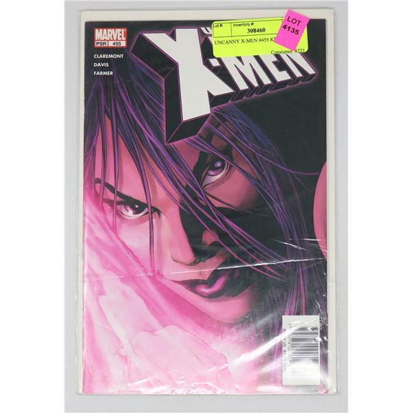 UNCANNY X-MEN #455 KEY ISSUE