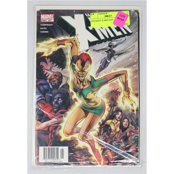 UNCANNY X-MEN #457