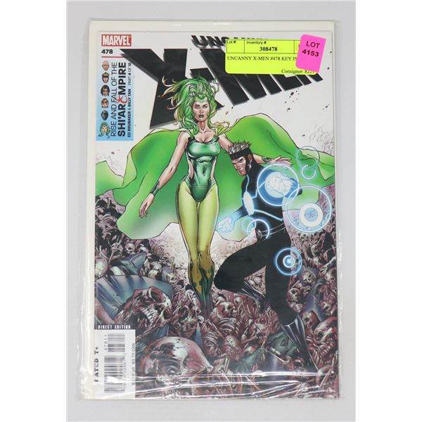 UNCANNY X-MEN #478 KEY ISSUE