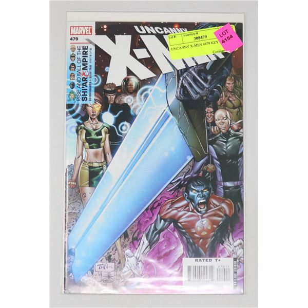 UNCANNY X-MEN #479 KEY ISSUE