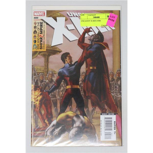 UNCANNY X-MEN #480