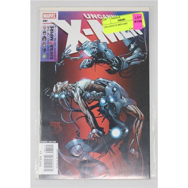 UNCANNY X-MEN #481
