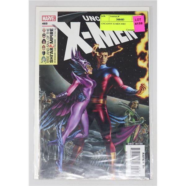 UNCANNY X-MEN #483