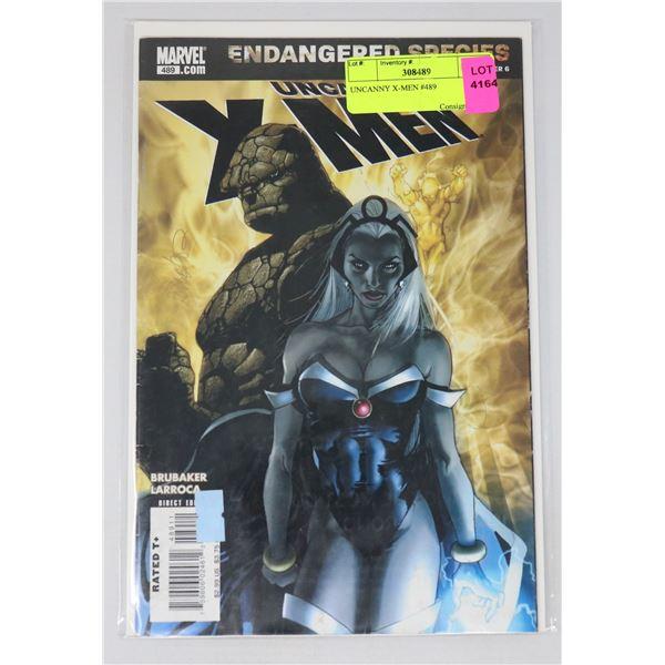 UNCANNY X-MEN #489