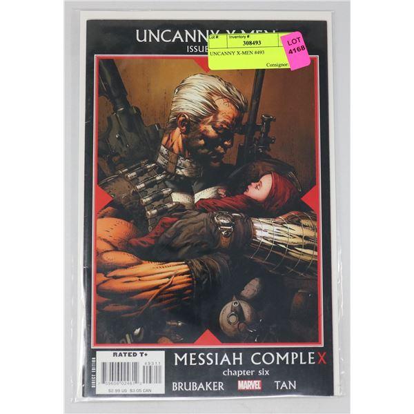 UNCANNY X-MEN #493