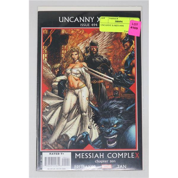 UNCANNY X-MEN #494
