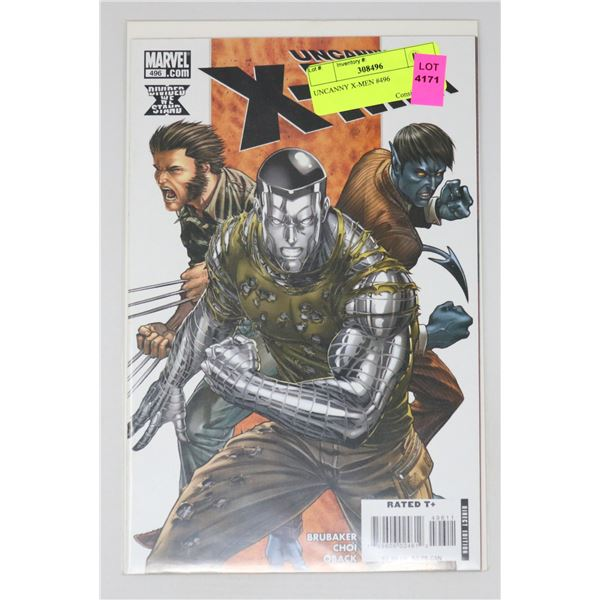 UNCANNY X-MEN #496
