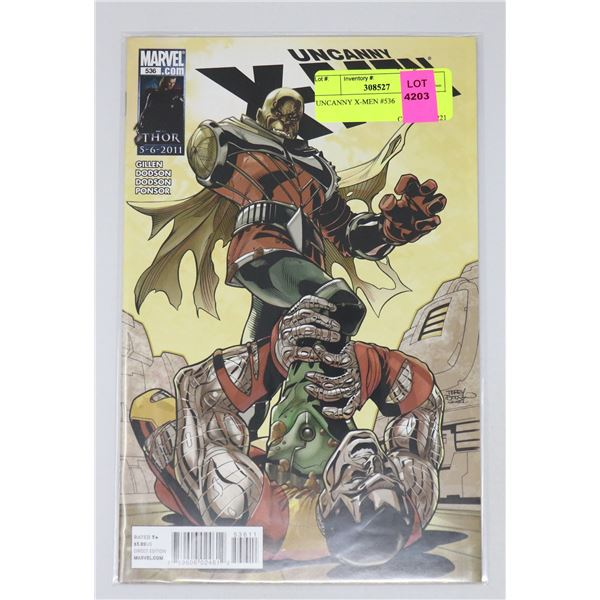 UNCANNY X-MEN #536