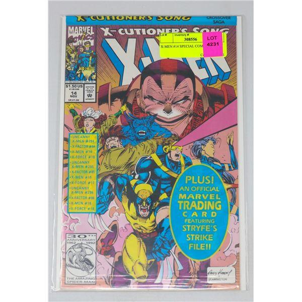 X-MEN #14 SPECIAL COMIC BAG