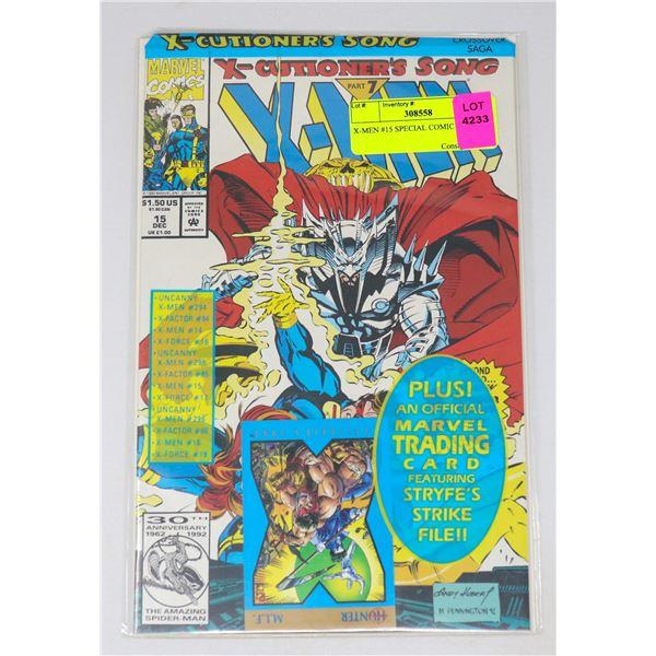 X-MEN #15 SPECIAL COMIC BAG