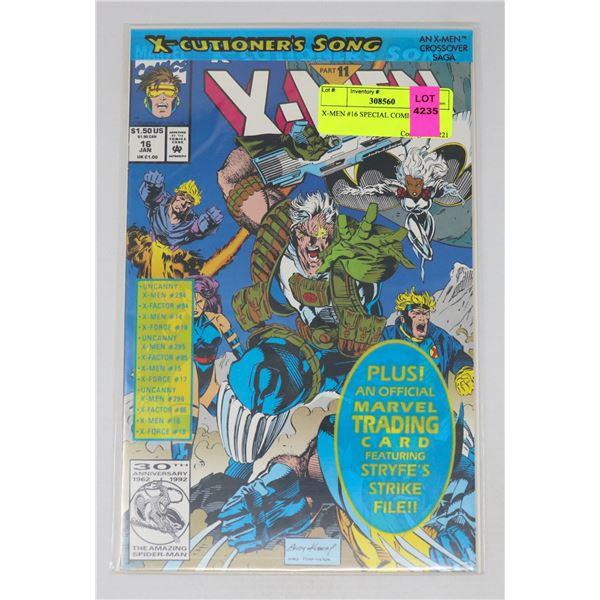 X-MEN #16 SPECIAL COMIC BAG