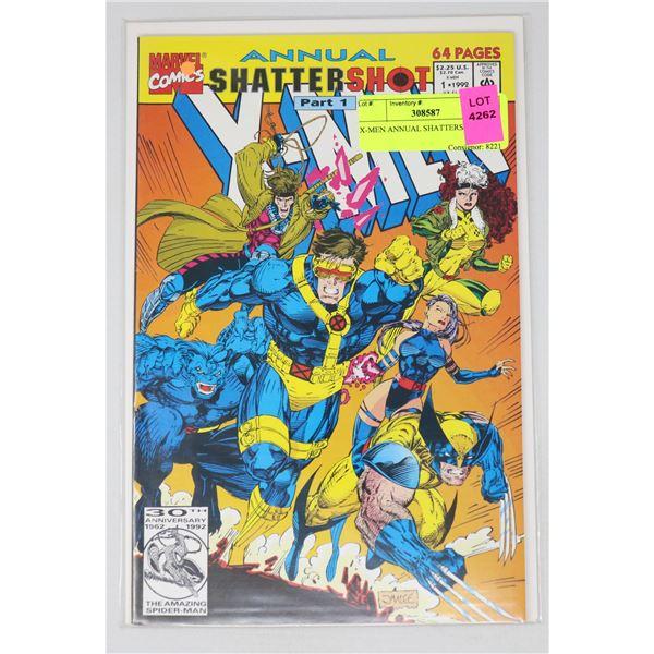 X-MEN ANNUAL SHATTERSHOT #1