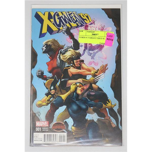 X-MEN #1 VARIANT ISSUE 92