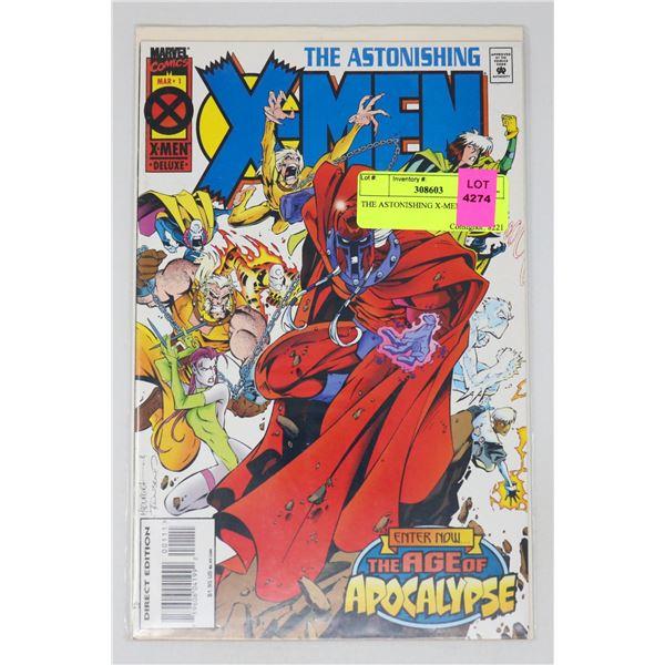 THE ASTONISHING X-MEN #1